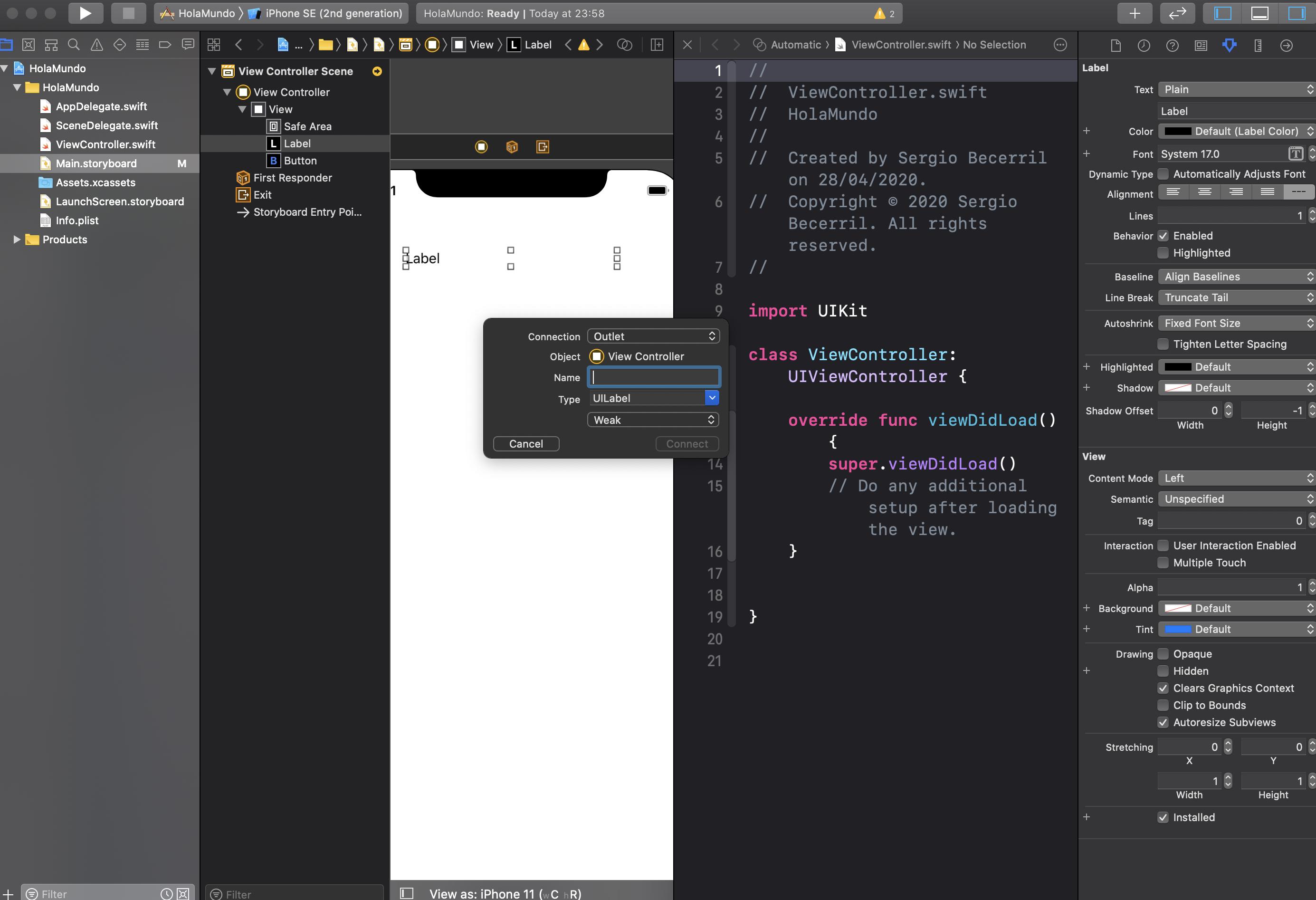 crear tu primera App con Swift-11