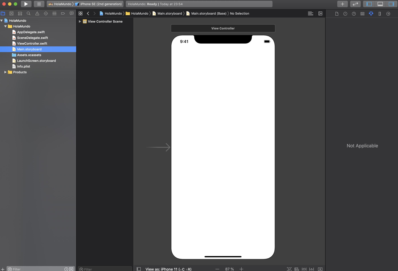 crear tu primera App con Swift-5