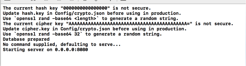 Vapor el Framework para usar Swift en un servidor14